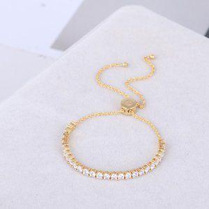 Kate Spade Single Row Zircon Inlaid Bracelet